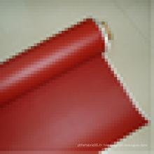 2015 Tissu en fibre de verre en caoutchouc silicone intégral en usine pour isolation thermique
