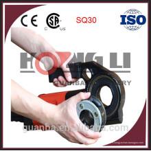 Enfileur de tuyau portatif de SQ30 / machine à fileter de tube avec du CE, 14kg