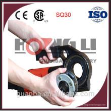 Threader portátil da tubulação SQ30 / tubulação que rosqueia a máquina com CE, 14kg