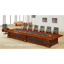 Luxury High End Large Wooden Conference Table for 20 Person