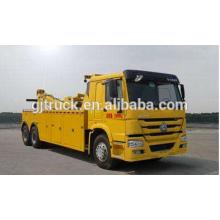 Volante a la derecha Sinotruk HOWO camión de auxilio / vehículo de remolque de camino / camión de auxilio / grúa / grúa de remolque / camión de auxilio HOWO