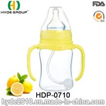Botella de alimentación de cristal del bebé de la categoría alimenticia 2016 (HDP-0710)