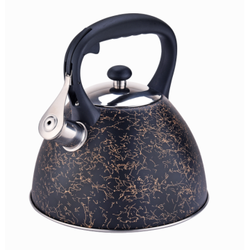3L stainless steel whistling stovetop kettle