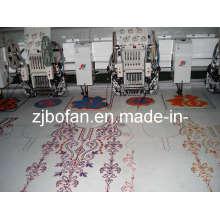 612 + 12 doble lentejuelas y la máquina del bordado del Chenille