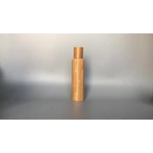Rollo vacío de bambú entero barato al por mayor en una botella de cristal botella de perfume de la bola de rodillo de 10 ml con la cubierta de bambú