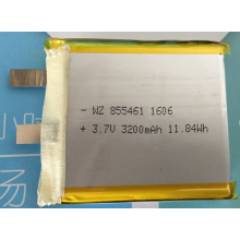 3200mAh Lipo Battery For Tablet (LP5X6T8)