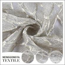 Fabriqué en Chine designer tricoté décoratif brodé tissu soluble dans l'eau
