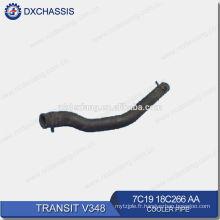 Pièces de rechange automatiques véritables pour le tuyau du refroidisseur 7C19 18C266 AA de transit V348