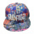 Gorra de béisbol con Snapback con pico plano New048