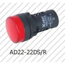Luz de sinalização vermelha de 22mm, lâmpada indicadora, branco puro, verde amarelo Bule