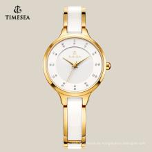 Reloj encantador simple modificado para requisitos particulares moda para las señoras 71070