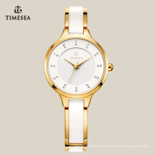 Moda personalizado relógio charme simples para senhoras 71070