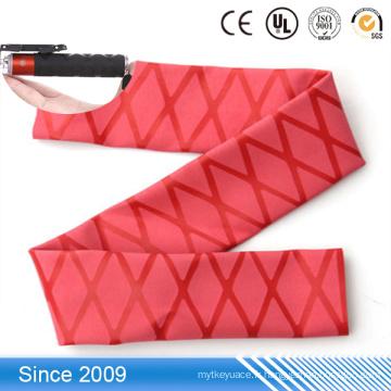 Manchon thermorétractable sans halogène coloré et tube thermorétractable pour poignées de balai