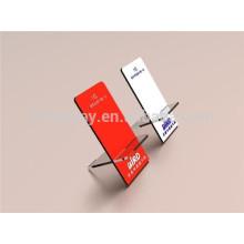 Suporte móvel acrílico, suporte do telemóvel, exposição móvel
