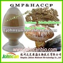 Treatment of Cancer Lentinus edodes (Shiitake) Beta1,3/1,6 D Glucan