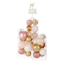 OLEG factory custom clear acrylic rectangle flower wedding centerpieces for wedding decoration