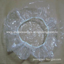 Disposable clear shower caps, OEM orders are welcome