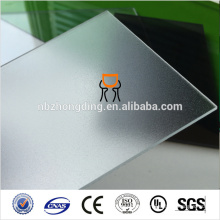 2x900x1200mm clear polycarbonate frosted chair mat sheet