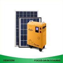 Hors réseau portatif 200W haute qualité 5000W seul système solaire