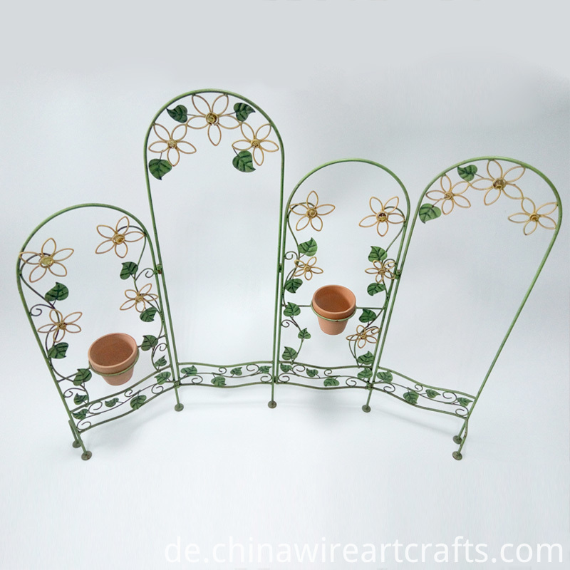 Fence Garden Decoration Flower Stand