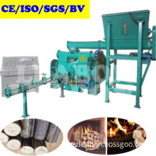 Biomass Waste Corn COB Cotton Stalk Wheat Rice Peanut Straw Briquette Machine