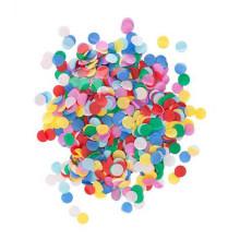 Colorido mixto confeti de papel redondo