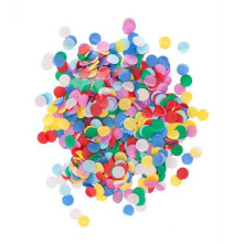 Colorful Mixed Round Paper Confetti