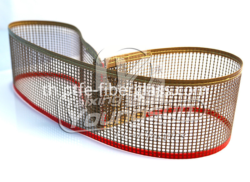 PTFE mesh conveyor belt for printing