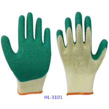 10g 5 Threads Polycotton Latex Glove