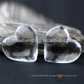 Fabrik direkt liefern Kristall Perle Vorhang Herzform