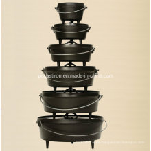 Preseasoned Cast Iron Dutch Oven Set Manufacturer From China.