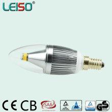 Cubierta de cristal de 330 grados C35 5W iluminación del LED (leisoA)