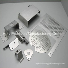 CNC Machining Metal Part with Laser Cutting