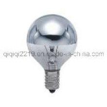 G45m 25W Top espelho lâmpada incandescente com venda direta