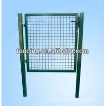 Portão de balanço automático de ferro