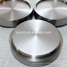 Cible de pulvérisation de titane ou de molybdène (mo) pour la photoélectronique et la cible de semi-conducteur / molybdène