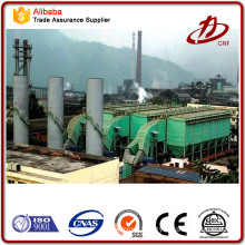 Gasifier coal biomass boiler dust collection system
