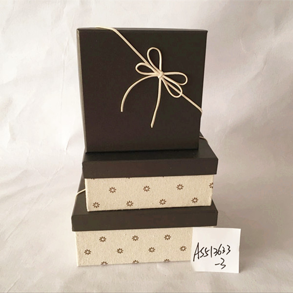 Chocolate Present Box