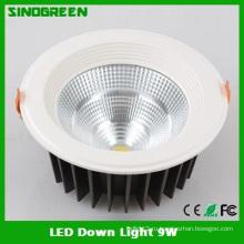 Конкурентоспособные светодиодные светильники Ce RoHS 9W