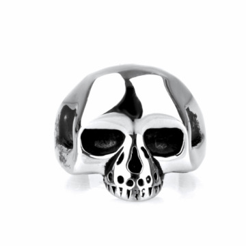 Keith richards multicolor steel skull ring untuk wanita