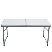 Camping lifetime steel table portable folding picnic table many color for choice