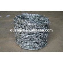 2015 galvanized barbed wire netting