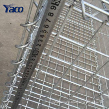 High quality steel 4mm 4.5mm welded gabion box wire fencing