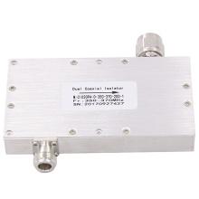 Caída eléctrica de 200 W 350-370 mhz en aislador coaxial dual