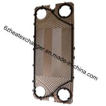Placa y junta de repuesto Sondex para intercambiadores de calor
