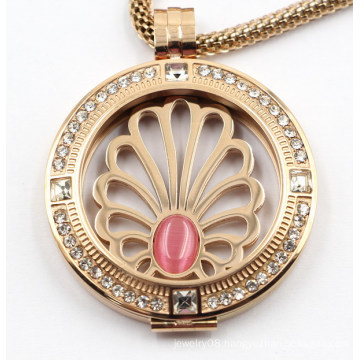 High Quality Custom Made 316L Stainless Steel Locket Pendant for Gift Jewellery
