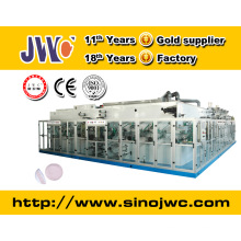 Full servo disposable breast pad making machine