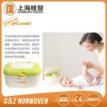 Étiquette privée Baby Wipe Factory, gros bébé Wipe Chine Fournisseur, sans alcool bébé Wipe Wipe prix