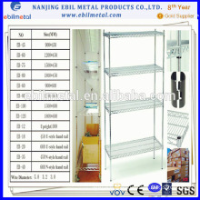 Ebil Wire Mesh Shelf for Storage Goods