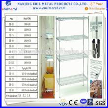 Prateleira de malha de arame Ebil para armazenamento de mercadorias